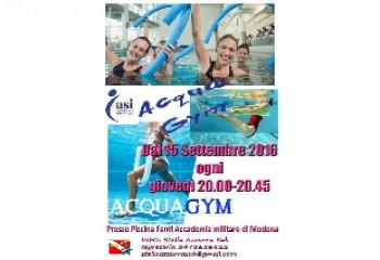 Corso Acqua Gym